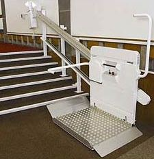 Incline Platform Wheelchair Stair Lifts Help Disabled