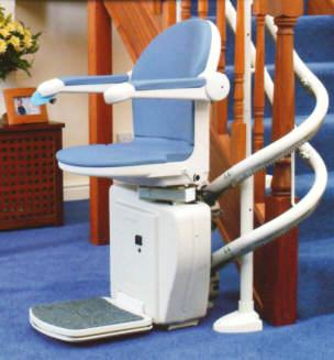 Sterling 2000 Curved Stair Lifts Atlanta