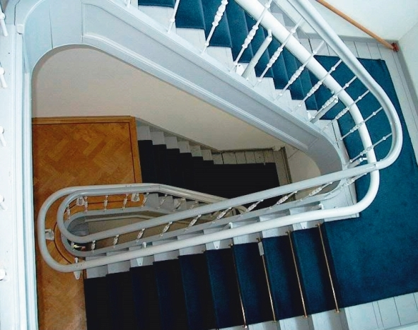 Perch seat stair lifts from bruno sterling handicare stair lifts atlanta llc - Stairlift for curved staircase ...
