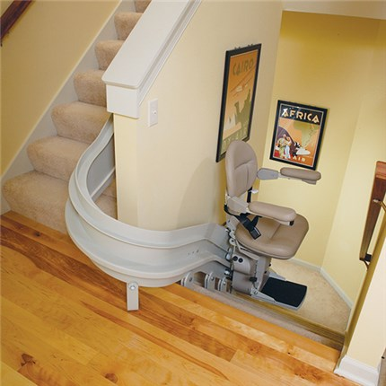 Indoor Curved Stair Lift